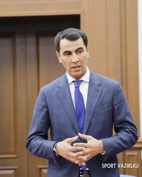 Равшан Ирматов назначен первым заместителем министра физической культуры и спорта