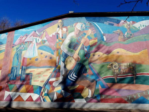 Ради туристов целые улицы будут отданы под граффити