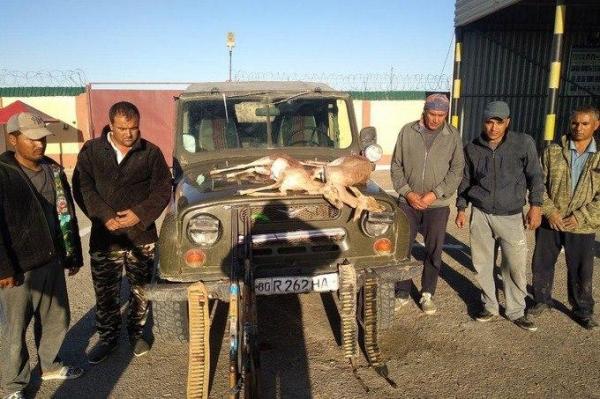 Застрелившие двух джейранов браконьеры получили срок от 3 до 4 лет