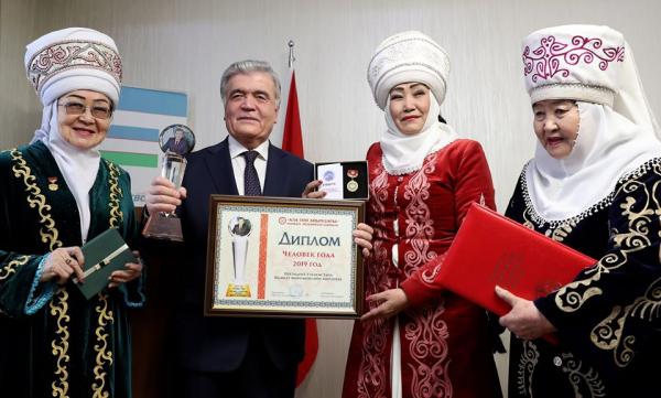 В Кыргызстане Шавката Мирзиёева признали «Человеком 2019 года»