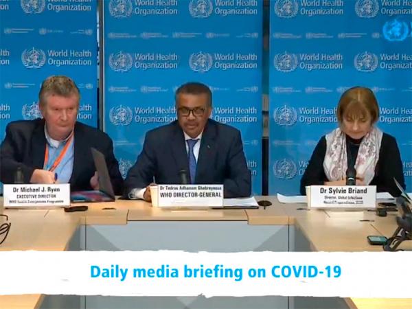 В ВОЗ предостерегли от чрезмерных мер в борьбе с коронавирусом