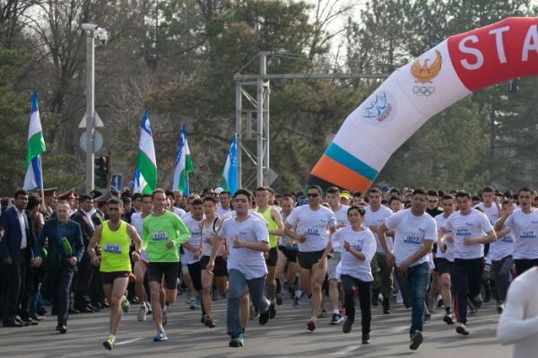 22 марта в Ташкенте состоится Международный марафон «Навруз»