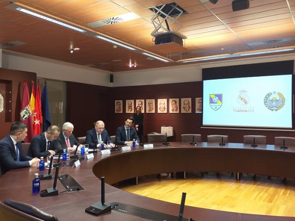 Испанский футбольный клуб Real Madrid открывает спортивные школы в Ташкенте и Самарканде