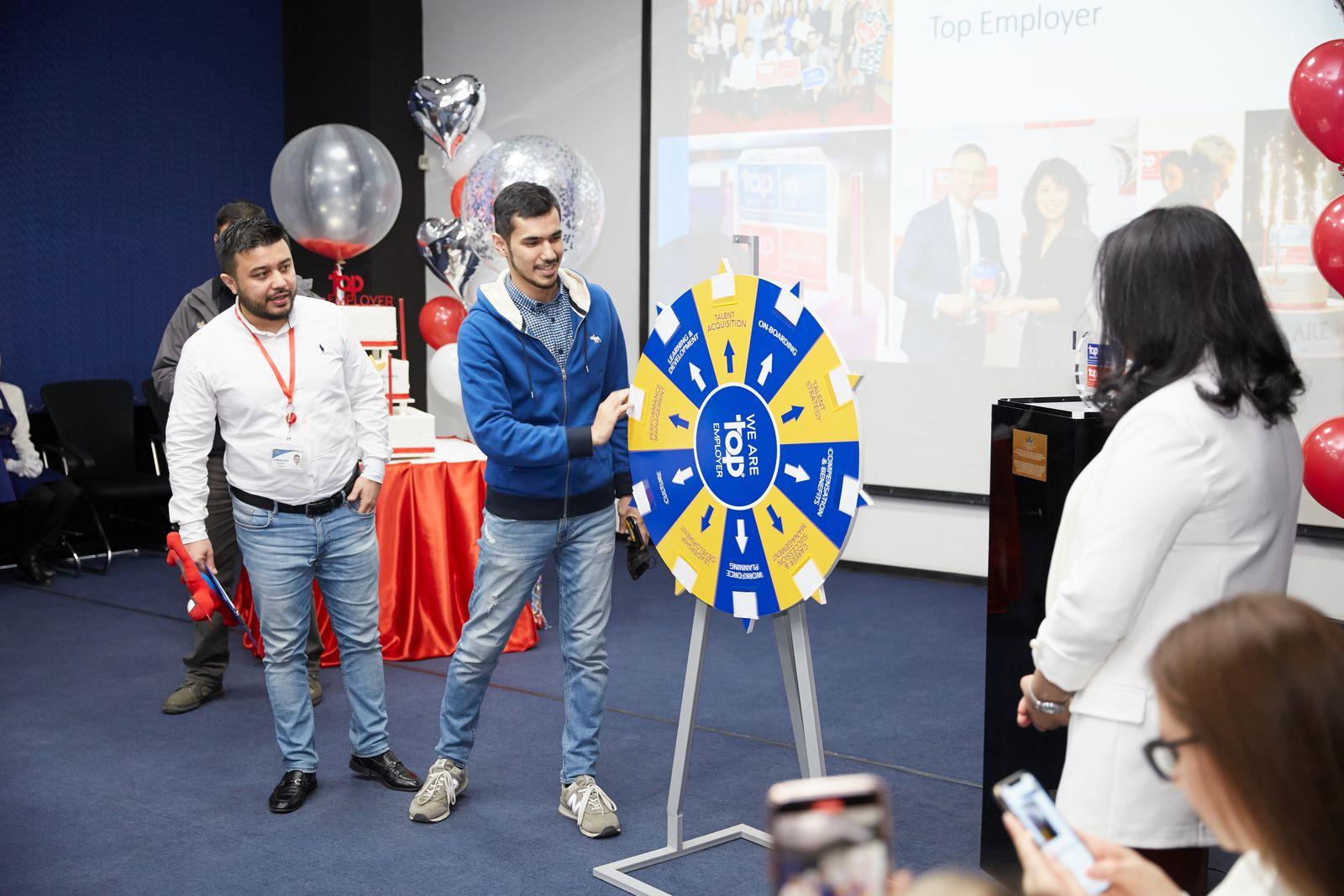Компания «БАТ Узбекистан» во второй раз удостоилась статуса Top Employer 2020  («Лучший Работодатель 2020»)