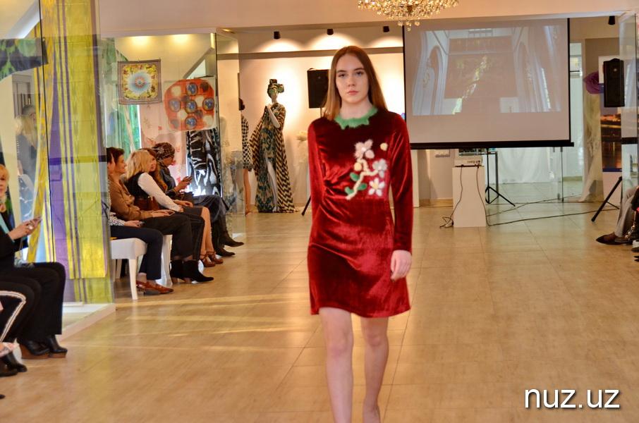 Модный показ от бренда La Rena в Ташкенте