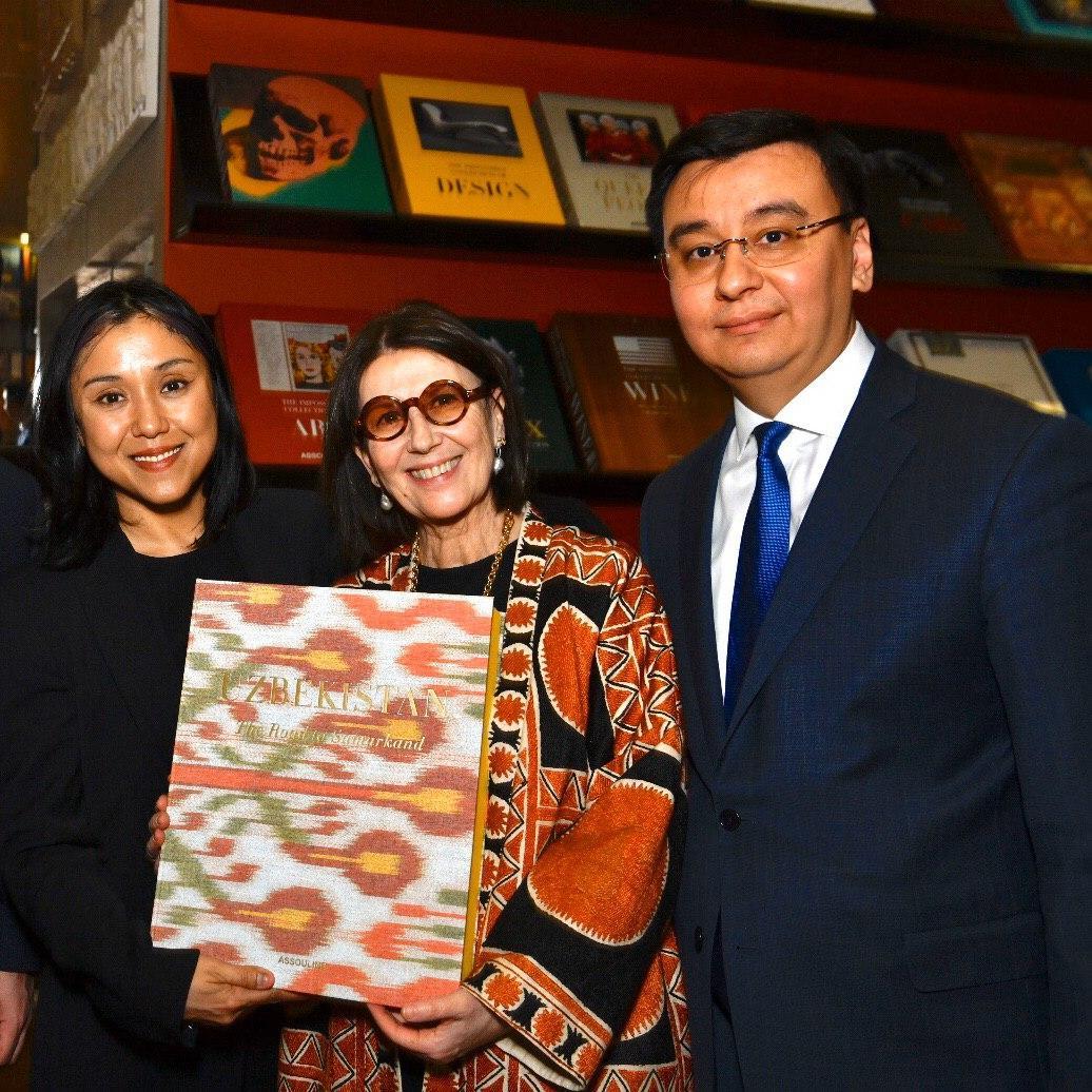 В Лондоне состоялась презентация книги «Узбекистан. Дорога в Самарканд»