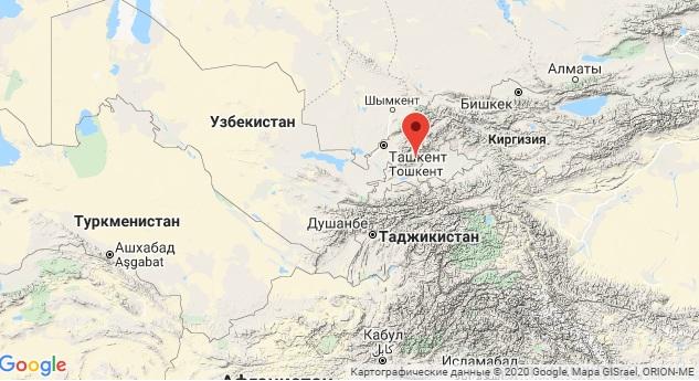 Жители Узбекистана ощутили подземные толчки. В Ташкенте их сила составила 3 балла