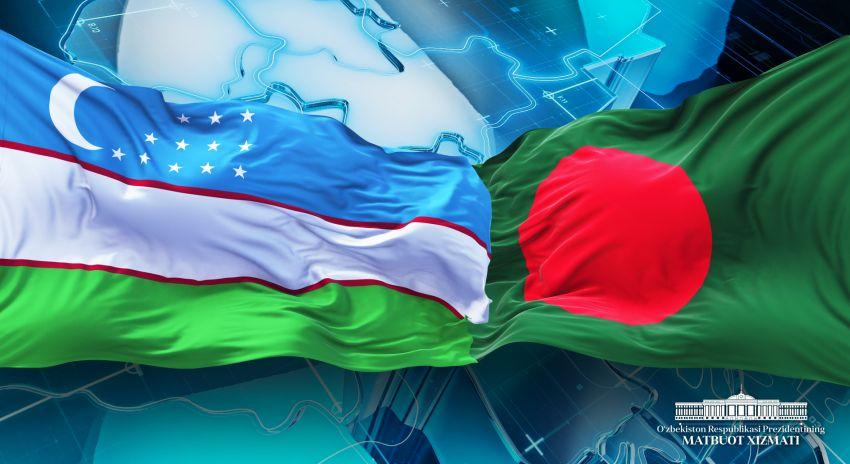 Шавкат Мирзиеев поздравил руководство Бангладеш с Днем независимости