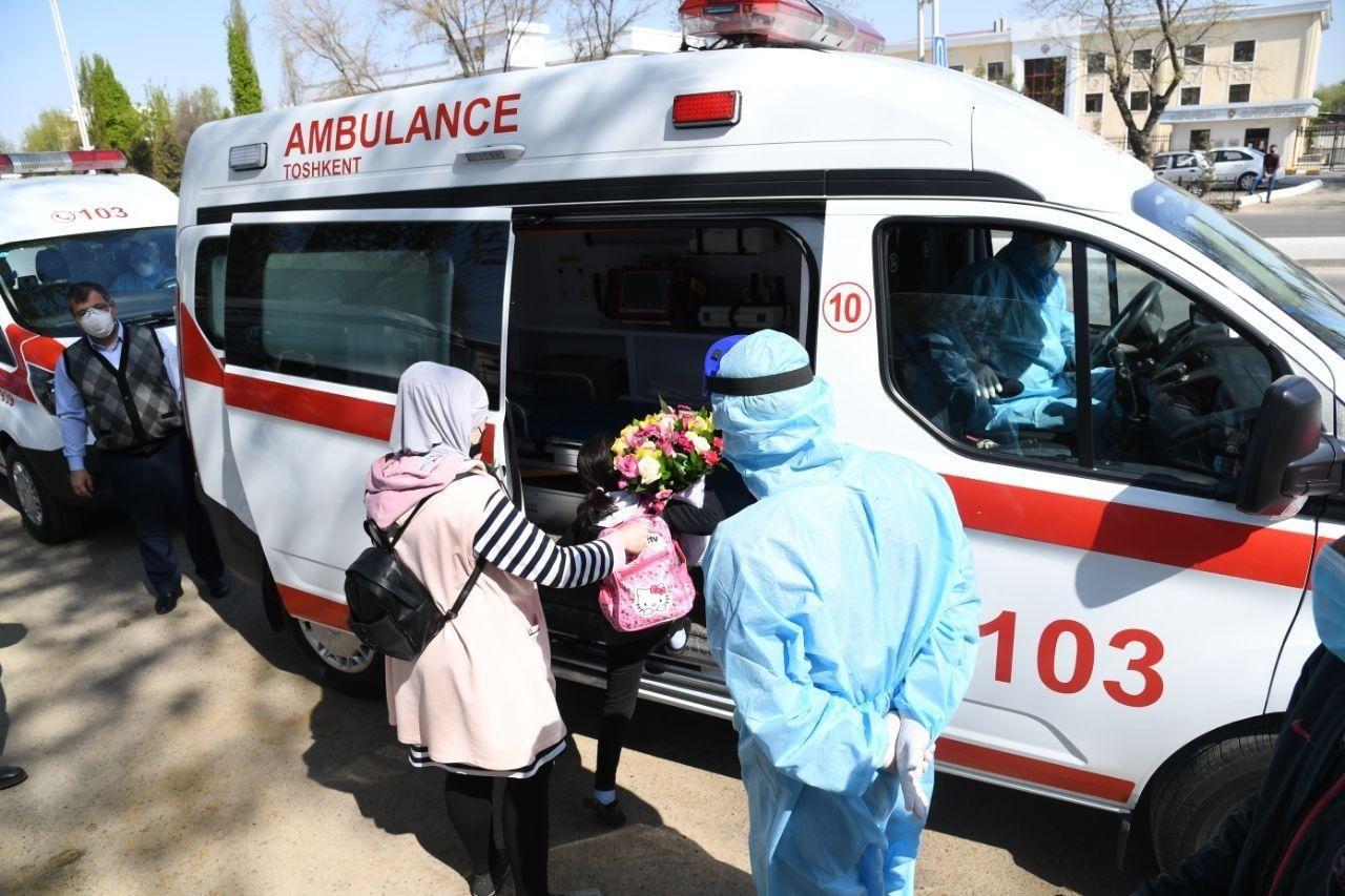 7 больных с коронавирусной инфекцией вылечились и их отправили на реабилитацию (фото)