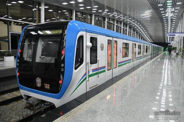 Для надземной линии Ташкентского метрополитена планируется приобрести десять вагонов