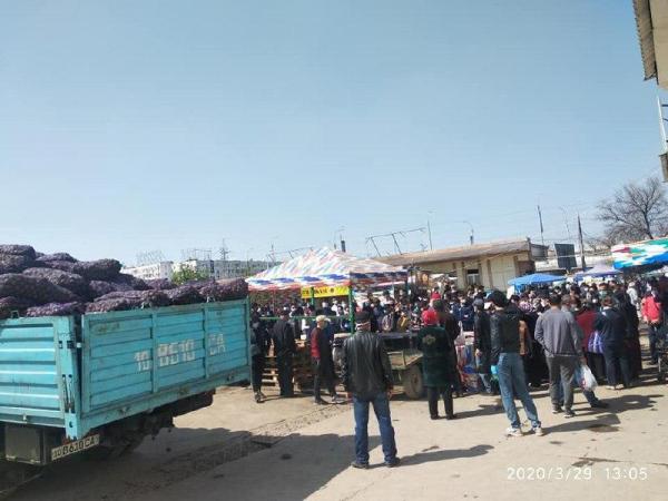 Продавцы картошки устроили панику на ташкентских рынках