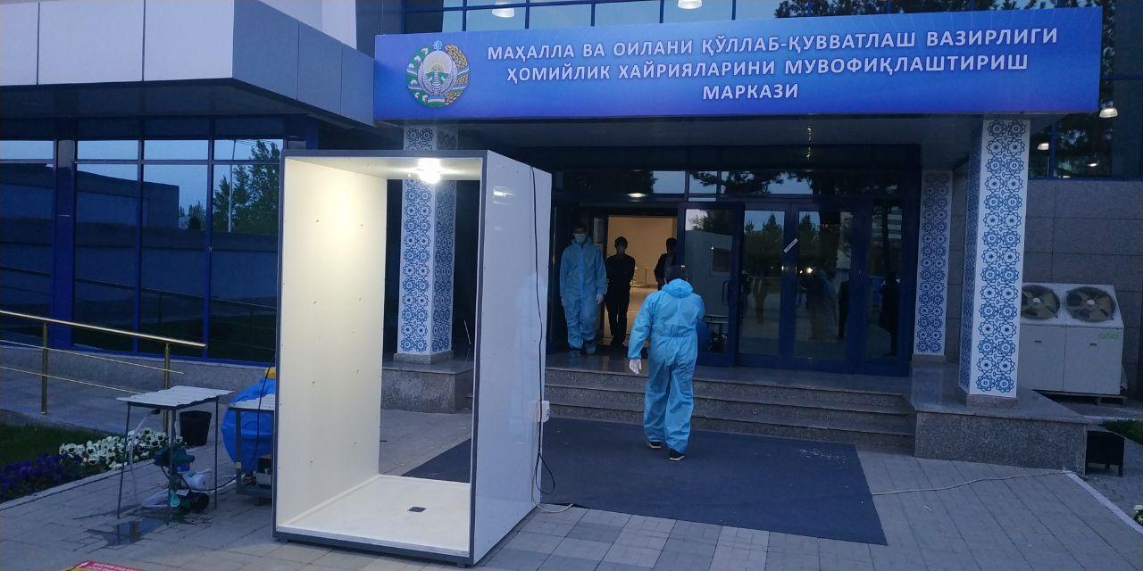 Вместо трейлеров и туалетов – санитарные шлюзы: обратит ли Минздрав внимание на инициативу ташкентских предпринимателей?