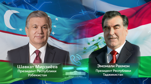 Президенты Узбекистана и Таджикистана обсудили совместные меры по борьбе с COVID-19