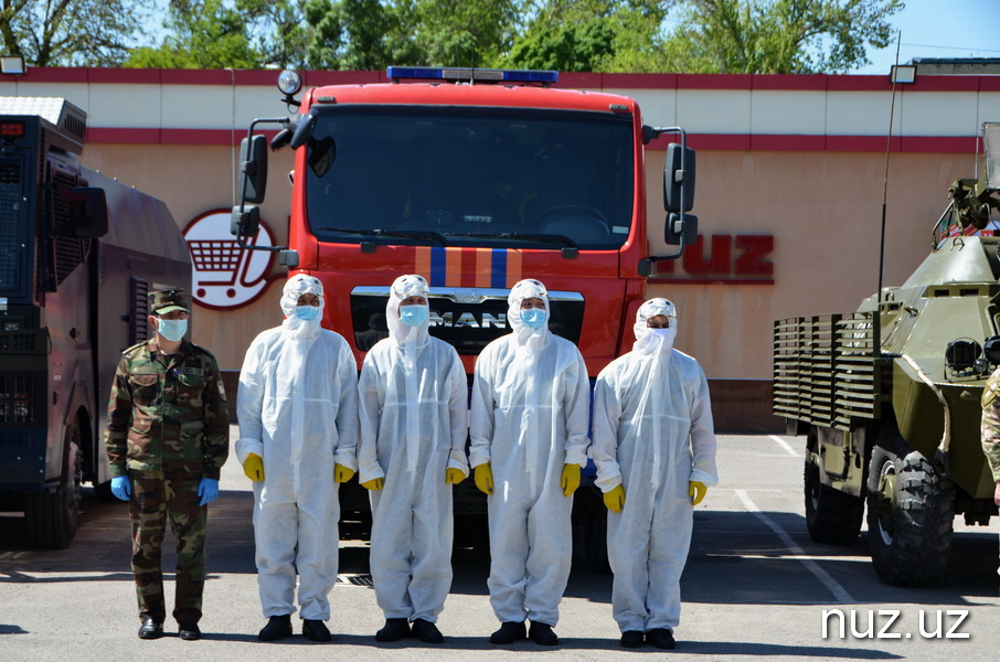 Сводки с фронта борьбы с коронавирусом: Минобороны, МЧС, МВД и Нацгвардия объединили усилия по борьбе с пандемией