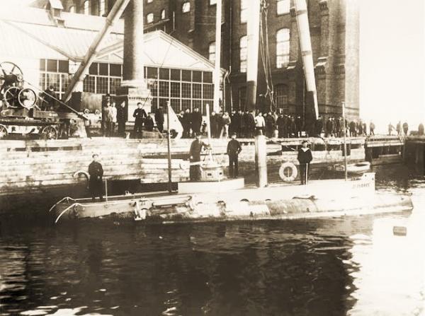 Подводная лодка для генерала Кауфмана. Окончание