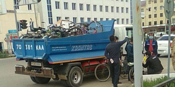 За день жители Карши лишились трехсот велосипедов