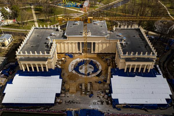 О бедной ротонде замолвите слово... или Судьба павильона «Узбекистан» на ВДНХ в Москве