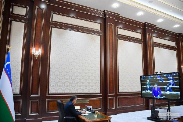 Президент раислигида навбатдаги видеоселектор  ўтказилди