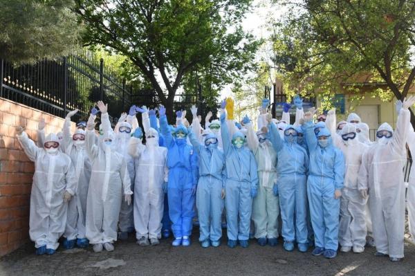 Выздоровели ещё 10 пациентов с коронавирусной инфекцией: 7 человек в Намангане и 3 – в Каракалпакстане