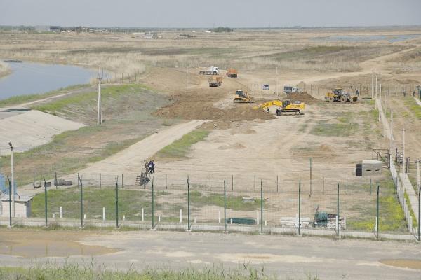 Сардоба сув омбори қошида кичик ГЭС  қурилиши бошланди