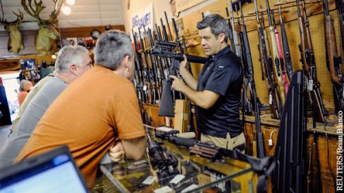 Пистолеты против вируса