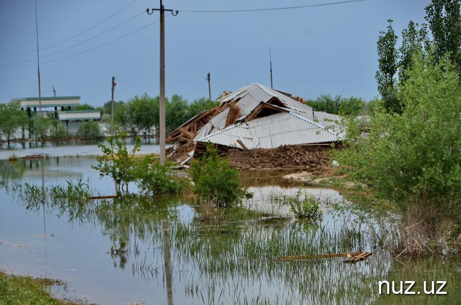 Как Сырдарья борется с бедствием: репортаж из зоны наводнения