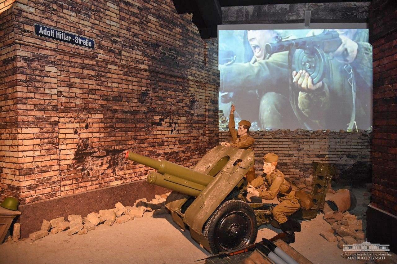 Шавкат Мирзиёев посетил Музей славы в Парке Победы
