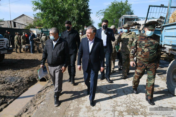 «Мы обязаны построить им новое жилье»: президент рассказал о помощи эвакуированным жителям Сырдарьи