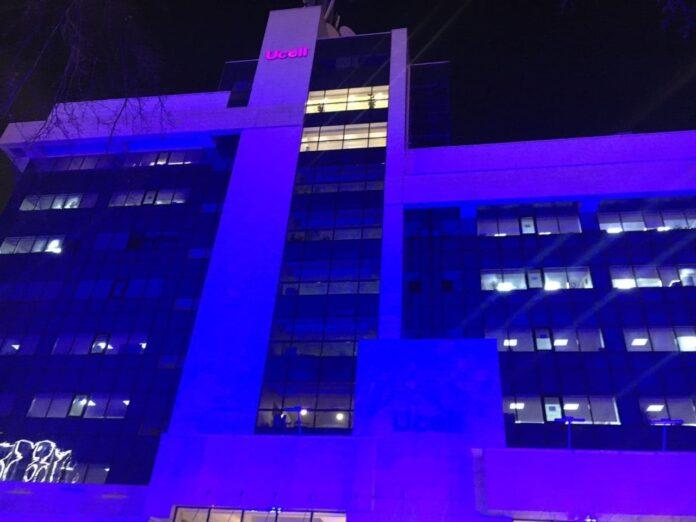 Ташкент подсветили синим: в Узбекистане проходит акция «Окрась мир в синий цвет»
