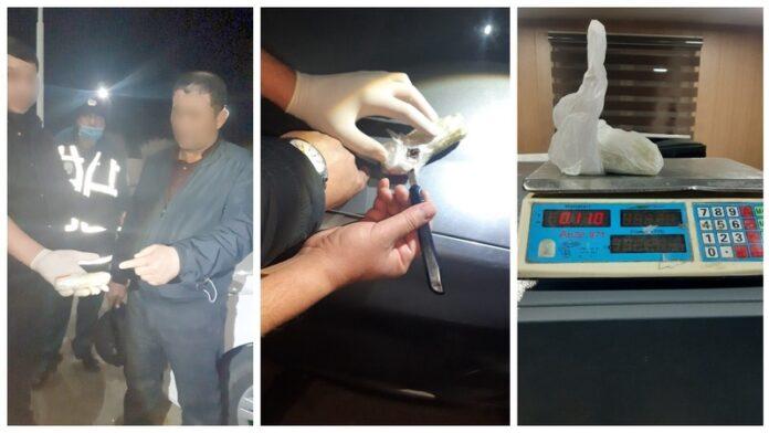 Перевозка не удалась: на посту ДПС задержан мужчина, пытавшийся провезти опий